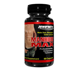 Manhood Max Male Enhancement Pill Reviews