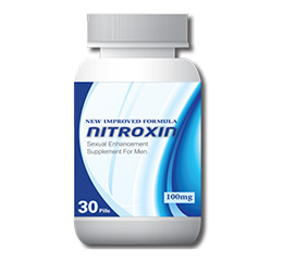 Nitroxin Male Enhancement Pill Reviews