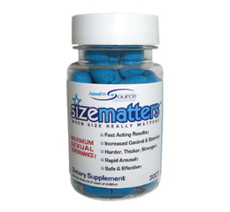 SizeMatters Male Enhancement Pill Reviews