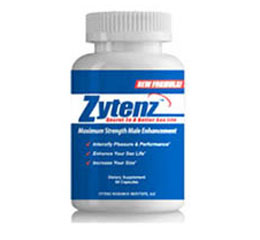 Zytenz Male Enhancement Pill Reviews